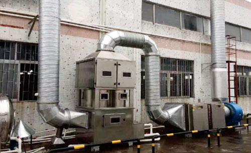 使用环保设备进行废气治理的方式和原则