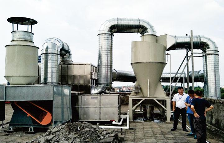 橡胶行业废气处理工程案例