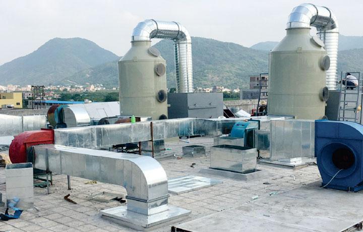 食品行业废气处理工程案例