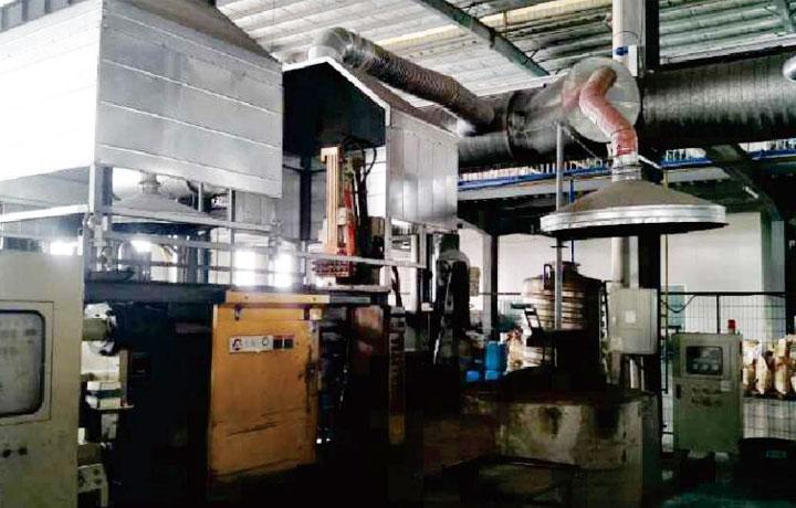 铸造废气除臭设备工程案例