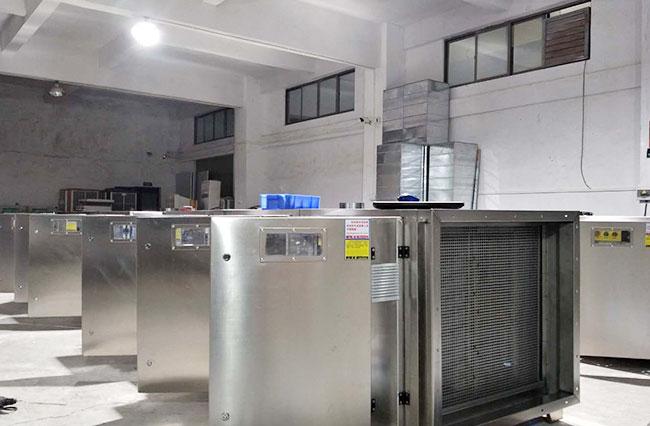 科瑞昌废气设备制造车间(八)